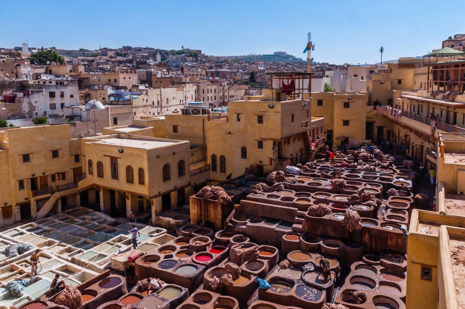 3 days from Fez to Marrakech desert tour