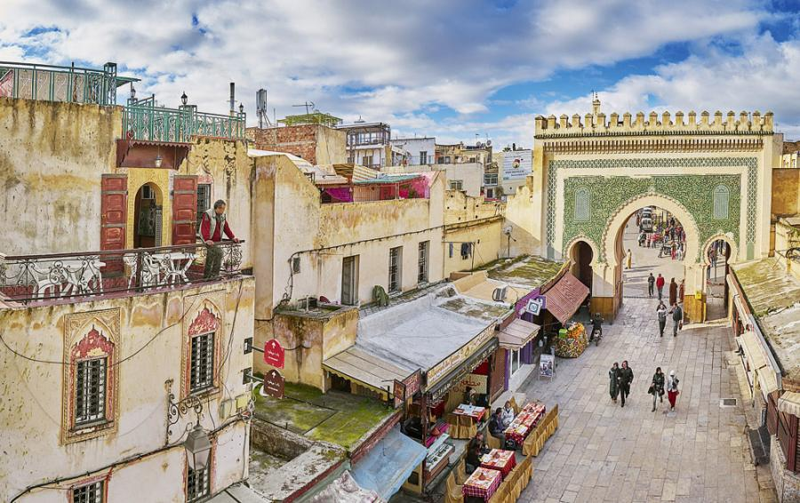 4 days from Fez to Marrakech desert tour
